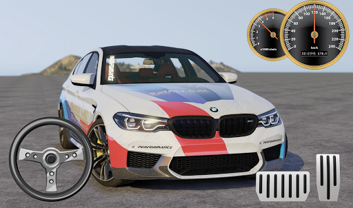 Drive BMW M5 & Parking School android2mod screenshots 1
