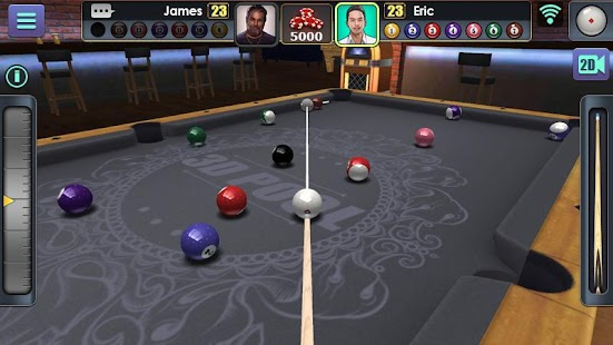 3D Pool Ball Screenshot