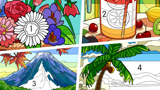 Coloring - color by number 1.1.7 screenshots 5