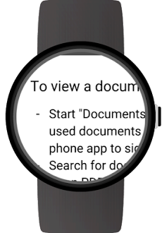 Documents for Wear OS (Android Wear)のおすすめ画像5