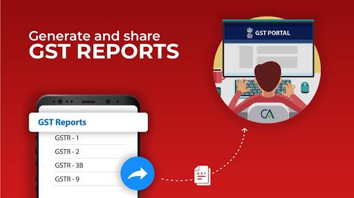 Invoicing, Billing, GST, Inventory, Accounting apktram screenshots 4