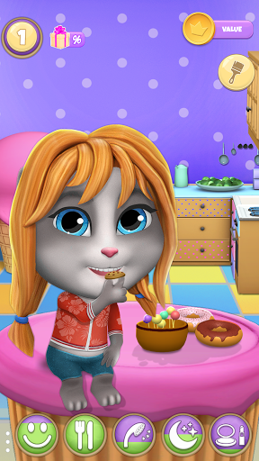 My Cat Lily 2 - Talking Virtual Pet 1.10.32 screenshots 17