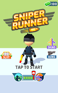Sniper Runner Mod Apk: 3D Shooting & Sniping (Unlimited Cash) 4