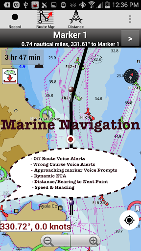 i-boating:marine navigation maps & nautical charts screenshot 2