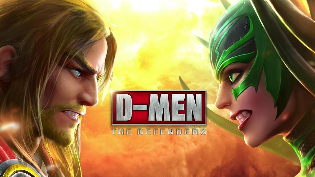 D-MEN:The Defenders poster 0