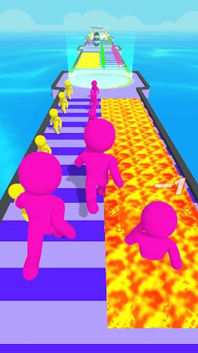 Giant Clash 3D - Join Color Run Race Rush Games screenshots 3