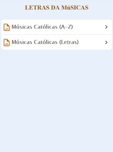 Mu00fasicas Catu00f3licas Letras screenshots 1