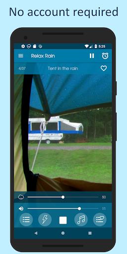 Relax Rain - Rain sounds: sleep and meditation android2mod screenshots 8