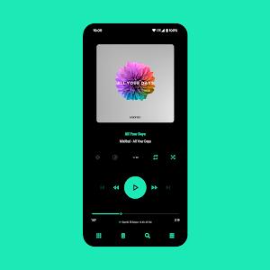 Aurora - Poweramp v3 Skin 4.9 (Paid)
