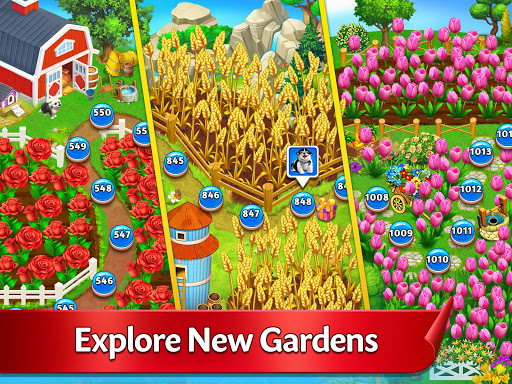 Solitaire Garden - TriPeaks Story screenshots 7