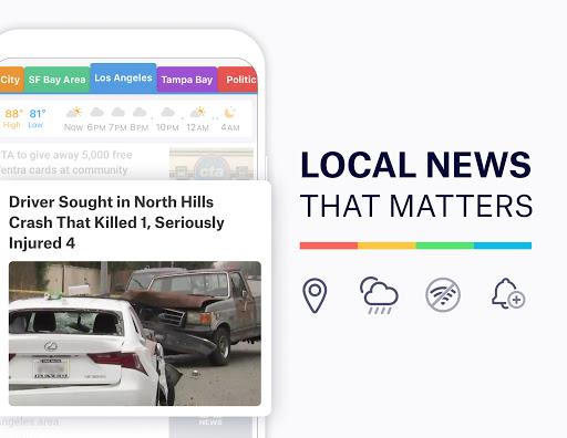 SmartNews: Local Breaking News screenshots 1