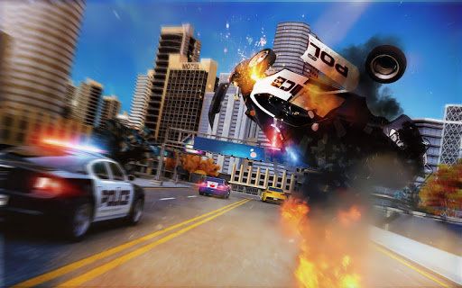 Police Car Chase - Mission 2020 Escape Game android2mod screenshots 3