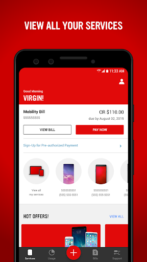 Virgin Mobile My Account 7.4.0 screenshots 1