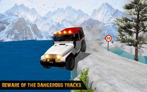 Offroad Jeep Driving Simulator : Real Jeep Games Apkfinish screenshots 9