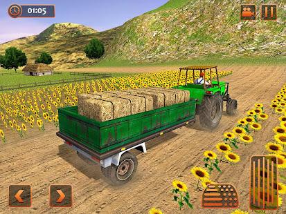 Farm Tractor Cargo Driving Simulator 20 screenshots 7