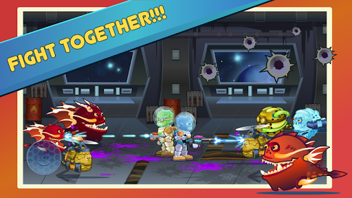 two heroes & monsters (two-player game) screenshot 1