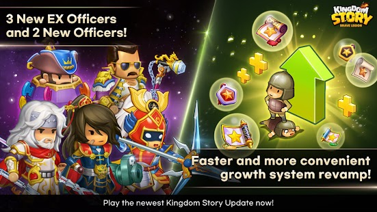 Kingdom Story: Brave Legion Screenshot