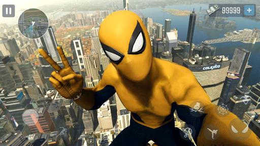 Super Spider Rope - Vegas Crime Rope Hero 1.5 screenshots 1