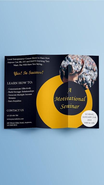 Brochure Maker - Pamphlets, Infographics, Catalog  poster 2
