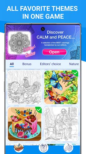 Happy Canvasu2122 - Color by Number Book 2.1.2 screenshots 8