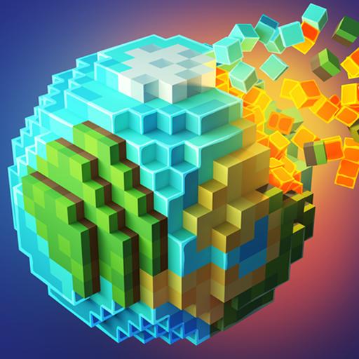 Planetcraft: Block Craft Mini World 3d