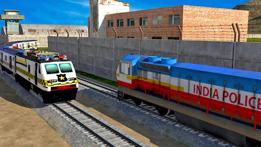 Indian Police Train Simulator apkdebit screenshots 2