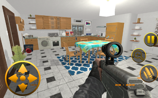 Destroy the House-Smash Home Interiors modiapk screenshots 1