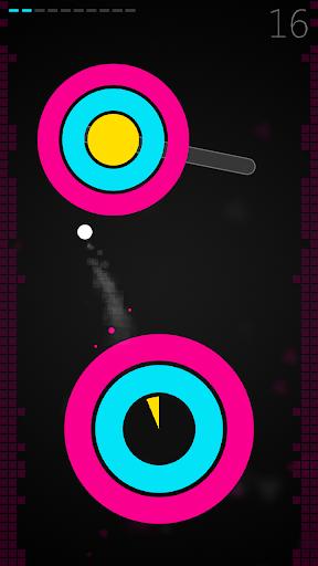 super circle jump★reaction game screenshot 1