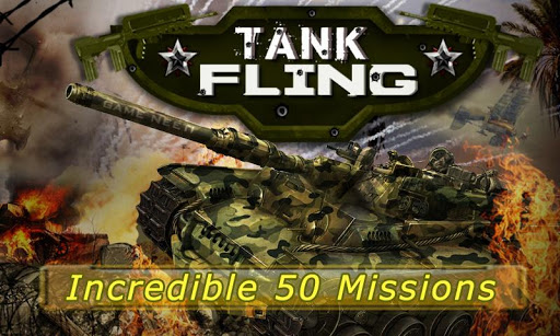 tank fling game screenshot 1