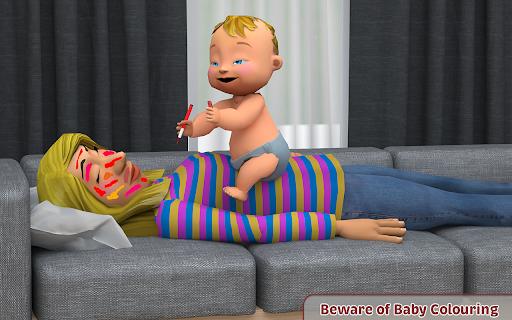 Virtual Baby Simulator Game: Baby Life Prank 2021  screenshots 6