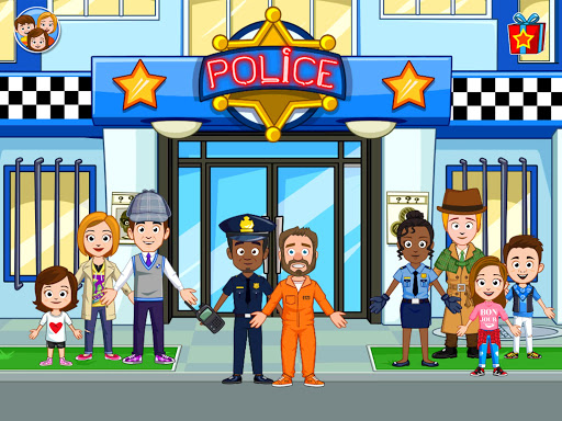 My Town : Police Station. Policeman Game for Kids screenshots 12