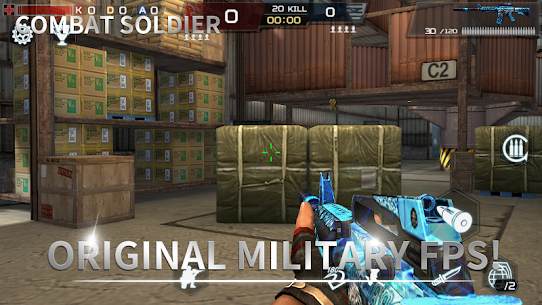 Combat Soldier – FPS Game Hack Android and iOS 1