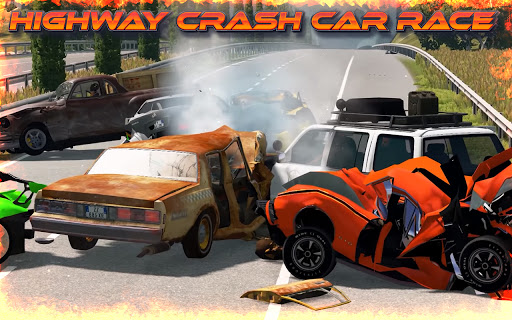 Highway Crash Car Race 1.6 screenshots 4