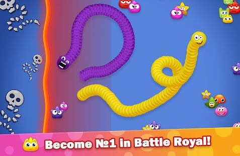 Worm Hunt - Battle Royal Screenshot