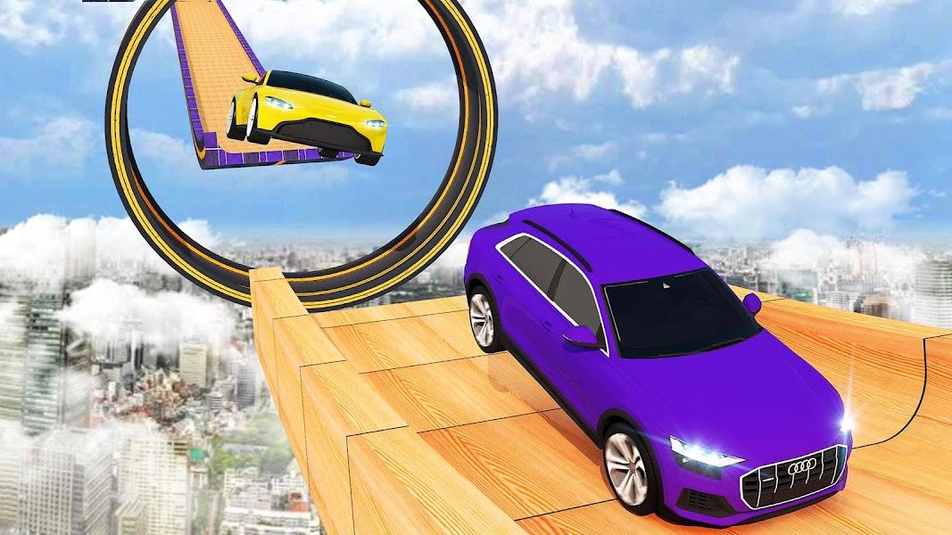 Ultimate City GT Car Stunt: Mega Ramp Climb Racing