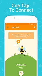 Daily VPN - Free Unlimited VPN & high VPN speed Screenshot