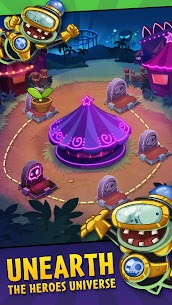 Download Plants vs. Zombies Heroes Zombies and Plants game: Android heroes mod 4