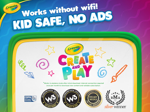 Crayola Create & Play: Coloring & Learning Games  screenshots 16