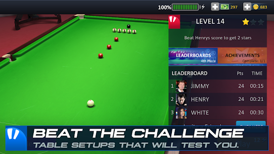 Snooker Stars 3D Online Sports Game Hileli Apk Güncel 2021** 5