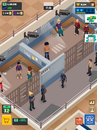 Idle Police Tycoon - Cops Game 1.2.1 screenshots 18