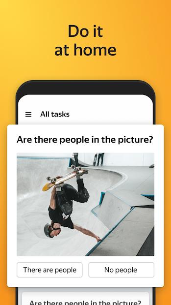 Yandex.Toloka: mobile earnings screenshot 2