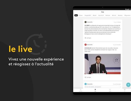 franceinfo : actualitu00e9s et info en direct 7.3.0 Screenshots 4