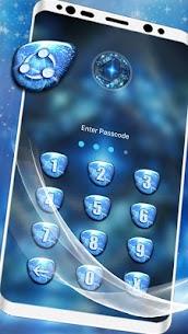 Blue Fractal Art Launcher Theme 5