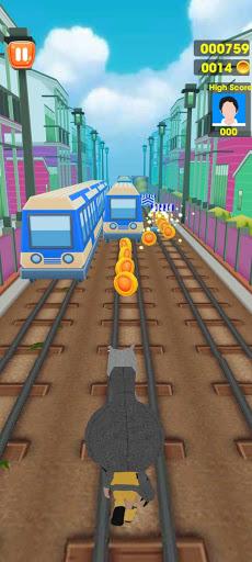 Subway Train Tracking Surf Run 1.0.4 screenshots 1