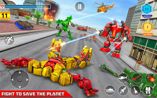 Multi Robot Transform game u2013 Tank Robot Car Games  screenshots 12