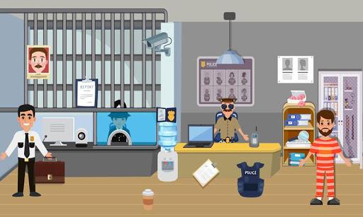 Pretend Play Police Officer Prison Escape Sim 1.0.3 screenshots 2