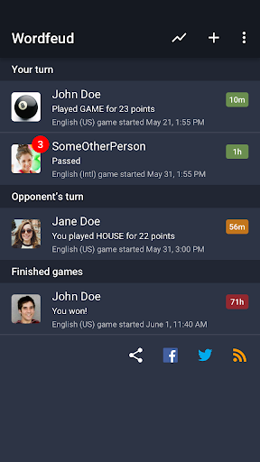Wordfeud Free 3.2.14 screenshots 6