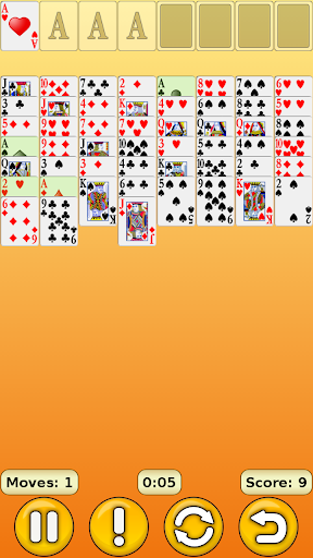 FreeCell 1.17 screenshots 4