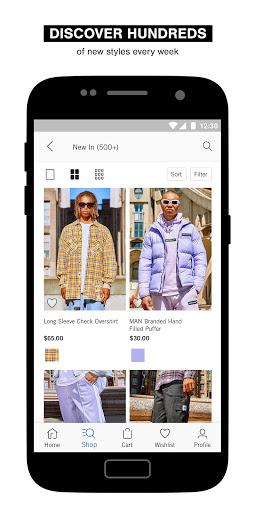 boohooMAN u2013 Menu2019s clothing shopping app  Screenshots 3