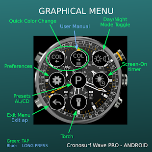 Cronosurf Wave Pro watch Screenshot